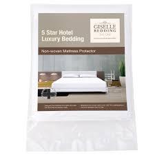 oz crazy mall waterproof non woven mattress protector queen