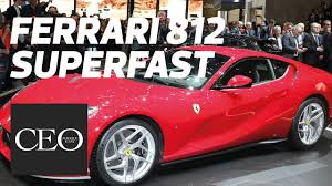 first ferrari price new ferrari 812 superfast launch top speed price youtube