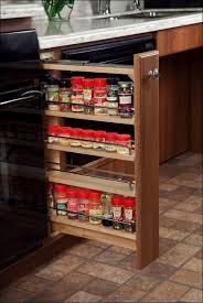 Spice Rack Inserts For Drawers Dining Room Amazing Narrow Pull Out Spice Rack Pull Out Kitchen