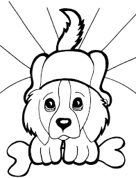 print u0026 download free puppy coloring pages