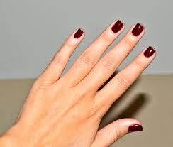 xo christine marie oxblood nails