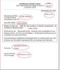 business letter samples englet com