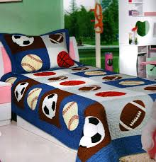 Twin Bed Sets For Boy by Amazon Com Mk Collection 2 Pc Bedspread Boys Sport Football