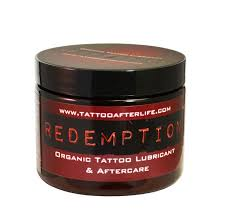 redemption tattoo lubricant u0026 aftercare 1oz