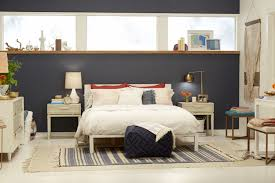 Black Painted Walls Bedroom Bedroom Exellent Mid Century Bedroom Inspiration With Dark