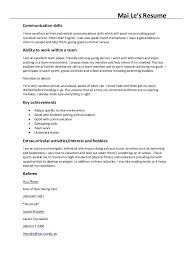Resume Technical Skills List Communication Skills Examples For Resume Peaceful Design Ideas