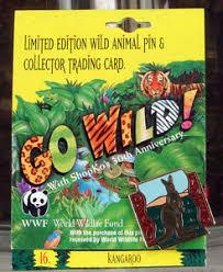 world wildlife federation shopko 1992 kangaroo pin pinback lapel