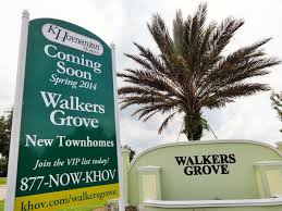 walkers grove in winter garden k hovnanian new townhomes youtube