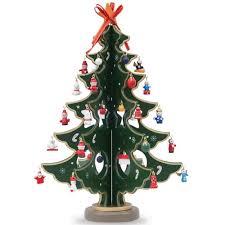 miniature tree ornaments decor