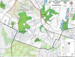 Massachusetts Maps Properties And Trails U2013 Lincoln Land Conservation Trust And Rural