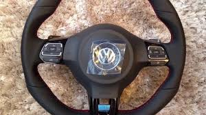 golf 5 gti flat bottom steering wheel and color mfd retrofits are