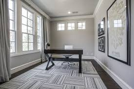 home office with crown molding carpet in plano tx zillow digs