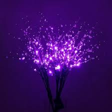 battery lighted willow branches 32 purple led light up branches floral decoration battery
