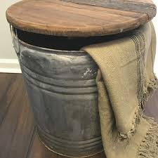 metal drum table vintage whiskey and wine barrel tables