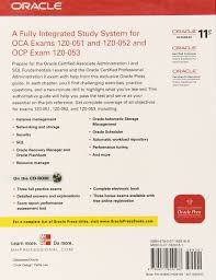 oca ocp oracle database 11g all in one exam guide with cd rom