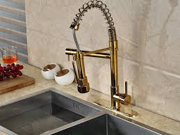 sink u0026 faucet gold kitchen faucet in striking popular gold