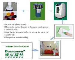 oceanpower s automatic paint shaker chemical material mixing