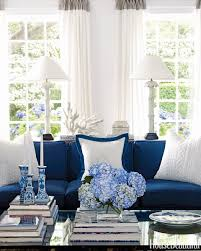 Decorating With A Blue Sofa by Breezy Colour Schemes Blue And White Provide A Light Summer