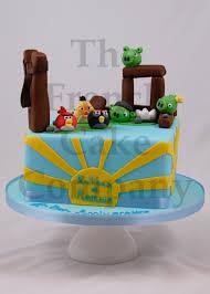 Dragon Ball Z Cake Decorations by Cake For Boys Angry Birds Gateau D U0027anniversaire Pour Enfants