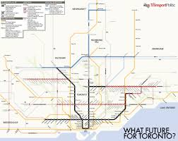 Marta Rail Map Hazy Future For Transit City As Toronto Gears Up For Mayoral