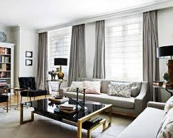 modern deko vorhange wohnzimmer wohnzimmer modern braunes sofa