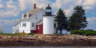 blue hill bay lighthouse maine real estate