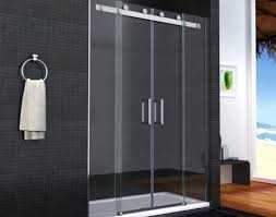 shower breathtaking frameless shower support bar dazzle