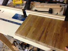 creating a cutting board from butcher block scrap old town home
