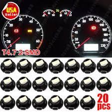 dashboard led light bulbs 20pcs super white t5 t4 7 neo wedge 12mm 12v instrument dashboard