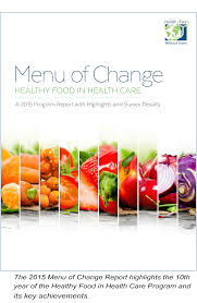 healthy food in health care health care without harm