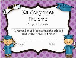 kindergarten certificates kindergarten diploma freebie kindergarten classroom