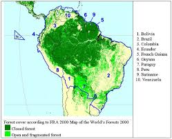 south america map rainforest chapter 43 tropical south america