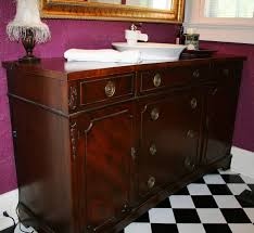 Repurpose Dining Room by Relics Vintage Dining Buffet Repurposed As Bathroom Vanity