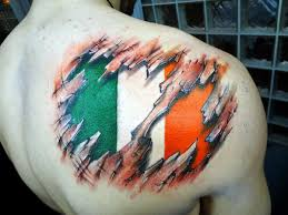 34 amazing irish flag tattoos