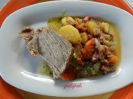 cuisine roti de porc en cocotte roti de porc cuit en cocotte avec ses légumes patipati