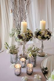 wedding table centerpiece ideas no flowers decorating of party