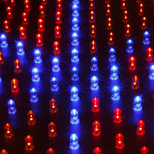 225 led grow light panel blue red 14 watt hydroponic plant lamp