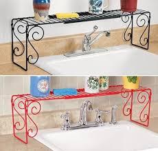 easy home expandable under sink shelf expandable sink shelf harriet carter