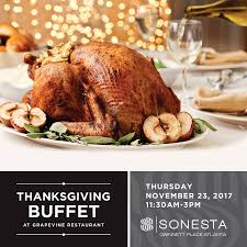 thanksgiving buffet at sonesta gwinnett place atlanta explore