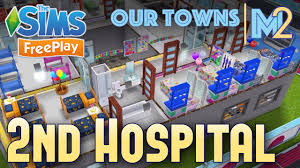 sims freeplay 2nd hospital original design youtube