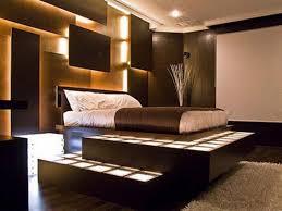 bedroom light wood floors with dark wood furniture within