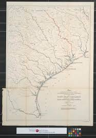 Intracoastal Waterway Map Map Showing Relative Geographical Position Of San Bernard River