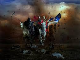 four horsemen of the apocalypse by madink2000 on deviantart