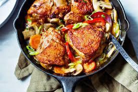 cajun thanksgiving one skillet chicken recipe with garlic cajun sauce u2014 eatwell101