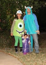 Monsters Halloween Costumes Adults 8 Monsters Costumes Images Family Costumes