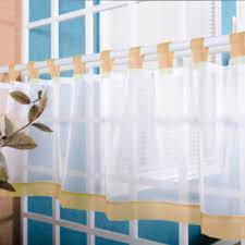 aliexpress com buy coffee roman tulle curtain window valance