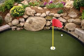 backyard putting green diy cost home outdoor decoration