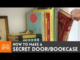 Best Wood To Build A Bookcase How To Make A Secret Door Bookcase Youtube