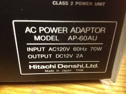 hitachi ac power ap 60au power supply your usa trusted supplier
