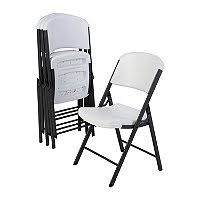 Cosco Folding Chair Cosco All Steel Folding Chair Select Color 4 Pack Sam U0027s Club